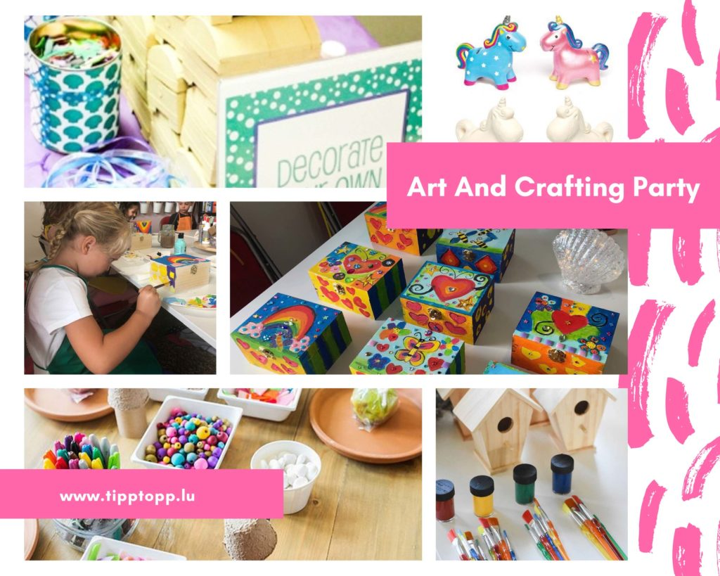 Art and Crafting Party